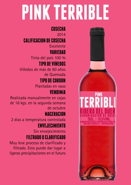 Fichas Terrible Rosado 2014