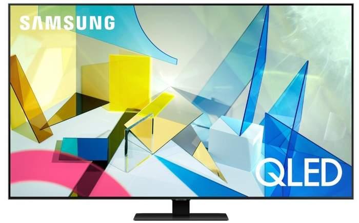 TV QLED Samsung QE85Q80T - 4K UHD, Smart TV IA, HDR1500, Full Array Premium, OTS, 4K Processor