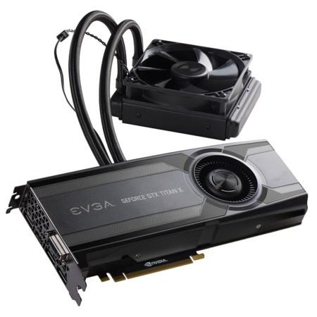 EVGA GeForce GTX TITAN X será aún más fría con enfriamiento líquido HYBRID