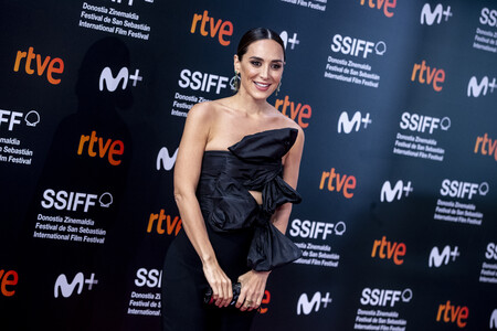 Tamara Falcó deslumbra en el Festival de San Sebastián 2020 con dos lookazos cargados de estilo