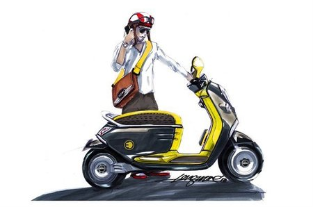 Scooter eléctrico por Mini