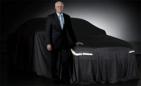 Audi A8 2010, primer teaser