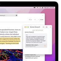Las novedades de Notas en iOS 15, iPadOS 15 y macOS Monterey no funcionarán en versiones más antiguas de los sistemas