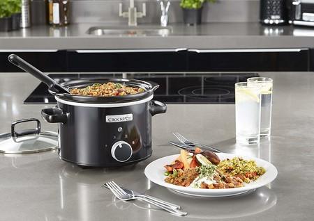 Oferta de AliExpress en la olla de cocción lenta Crock-Pot CSC046X: cuesta 26,94 euros con envío gratis