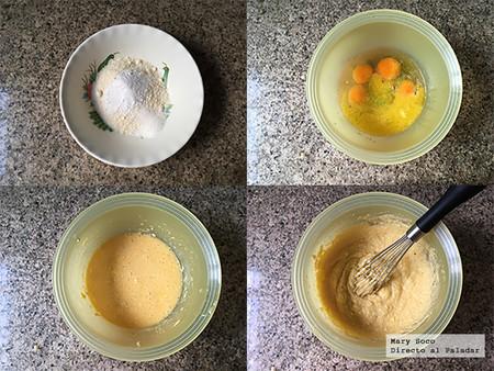 Muffins Coco Limon Pasos