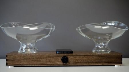 """¿Cómo sonará un altavoz construido con cuencos de vidrio? Seguro que con un sonido """"cristalino"""""""