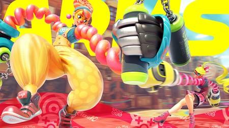 Nintendo presenta a Lola Pop, la nueva luchadora de ARMS, y anuncia un nuevo Global Testpunch [GC 2017]