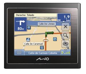 Mio Moov 150, GPS económico y con lo básico