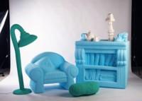 Los muebles de Silva Lovasová convierten tu hogar en una casa de muñecas