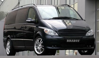 Mercedes Viano Brabus Multimedia