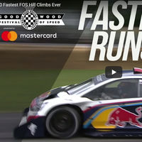Los 10 coches más rápidos de la historia en la colina del Goodwood Festival of Speed, en vídeo
