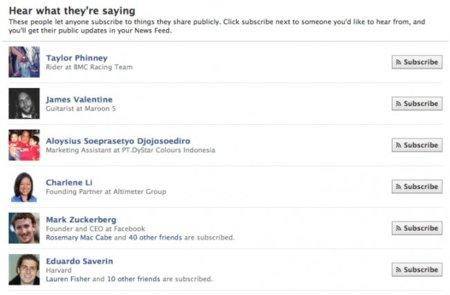 """Facebook se apoya en los """"usuarios sugeridos"""" para impulsar su sistema de suscripciones"""