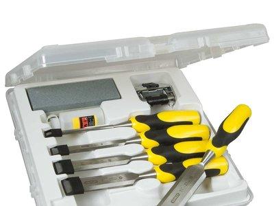 Un chollo para tu caja de herramientas: el set de cinco cinceles Stanley 516421 Dynagrip cuesta sólo 11,29 euros en Amazon