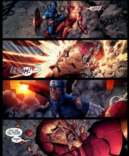 El duelo en el cómic