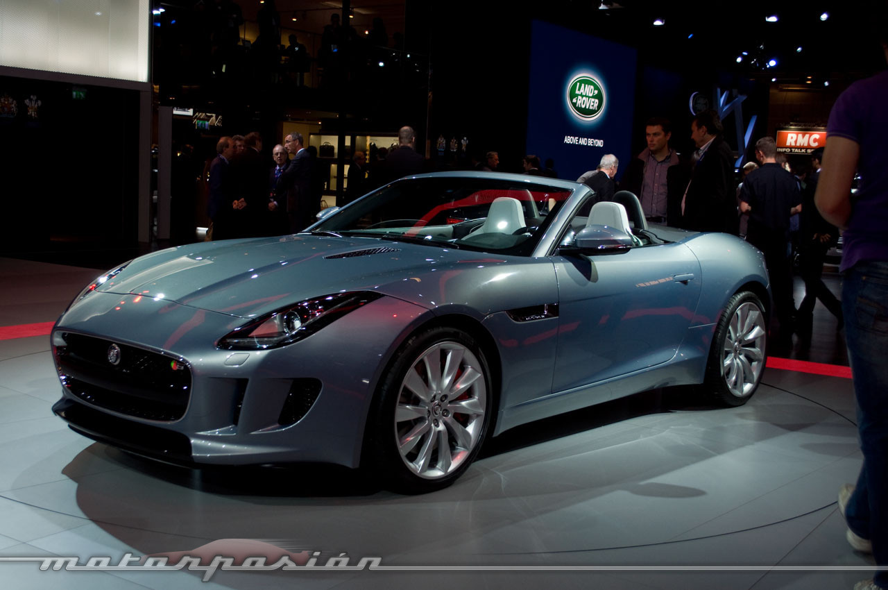 Foto de Jaguar F-Type en el Salón de París (5/10)