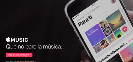 El periodo de prueba en Apple Music deja de ser gratuito: 0,99 euros por tres meses en España