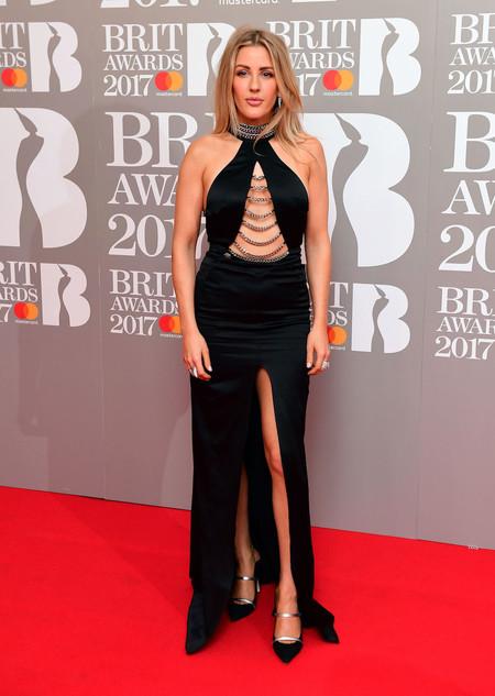 Ellie Goulding Brit Awards peor vestidas 2017