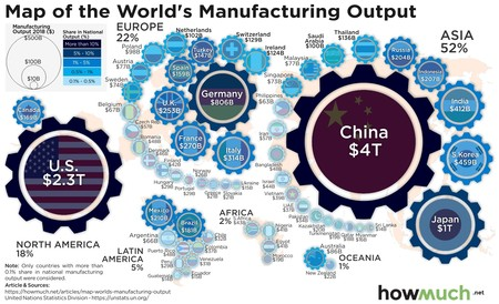 World Map Manufacturing Output 6a01