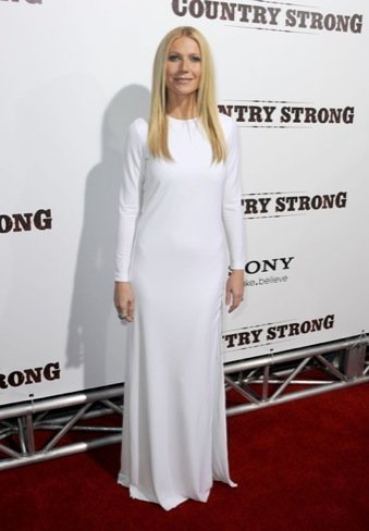 gwyneth paltrow vestido blanco