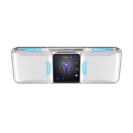 Lenovo Legion Phone Duel 2 Titanium White Octa Trigger Icon No Hands