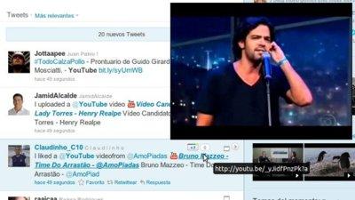 Sustituye enlaces a Youtube por el título del video y míralo sin abandonar la página en la que estás