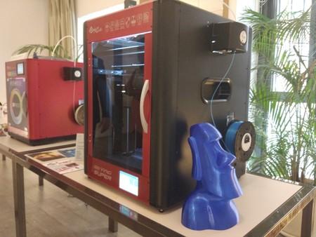 Estuvimos en la presentación de XYZprinting en Madrid viendo la impresora da Vinci Color en 3D
