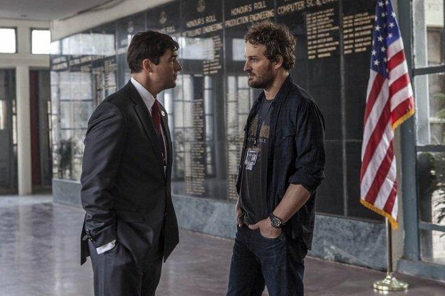 Kyle Chandler y Jason Clarke en 'La noche más oscura'