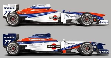 El Williams FW36 podría vestirse de Martini ya en Bahréin