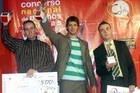 Pablo Vicari, ganador del II concurso nacional de pinchos ciudad de Valladolid