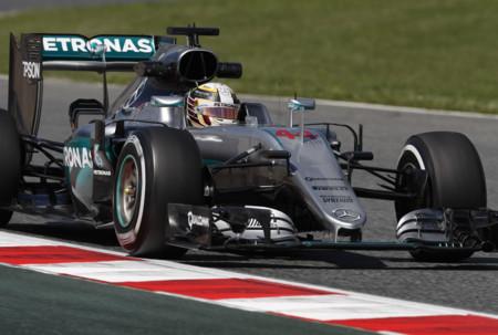 Lewis Hamilton Libres Gp Espana 2016