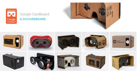 "Google lanza sitio web ""Works with Cardboard"""