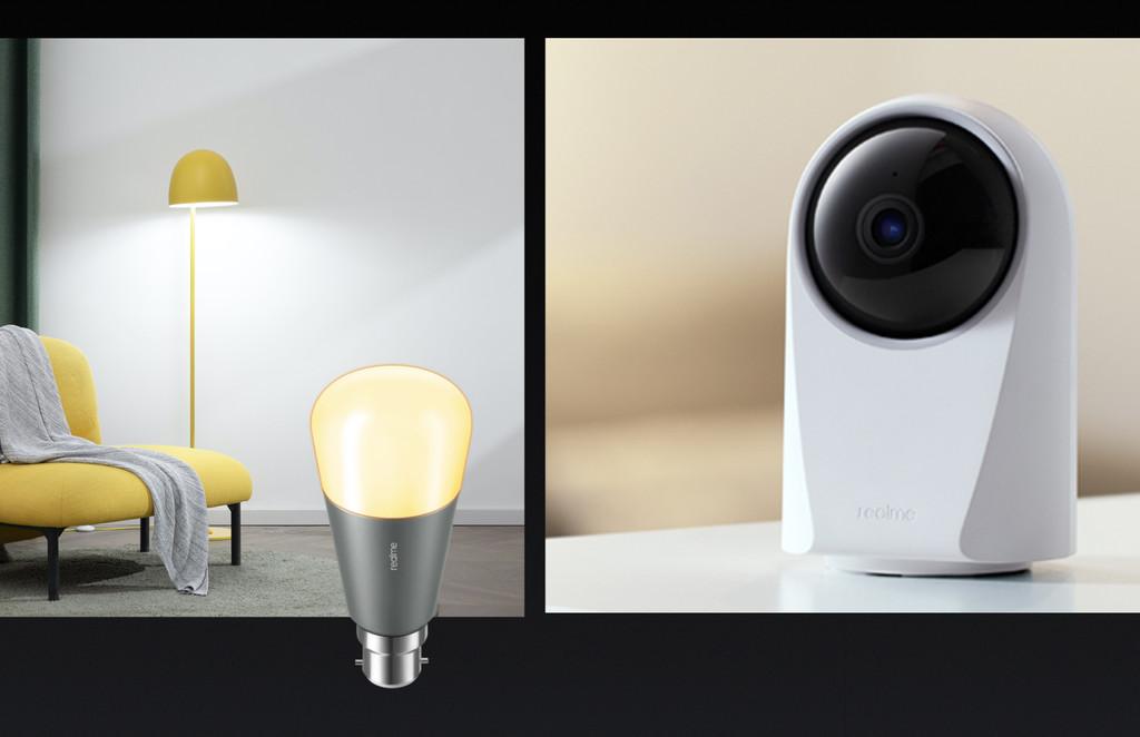 Una bombilla inteligente y una cámara de seguridad: Realme se lanza de cabeza al Internet de las Cosas en el IFA 2020