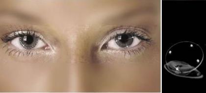 Swarovski en tus lentes de contacto