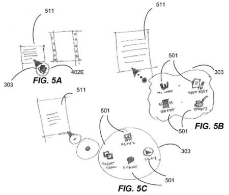 QuickLook activado por el cursor, visto en una nueva patente de Apple