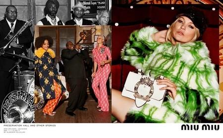 Kate Moss Naomie Harris Miu Miu Campana Otono Invierno 2017 2018 3
