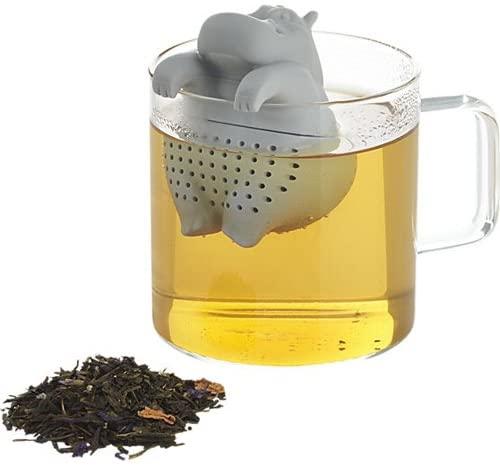 Infusor de té con forma de hipopótamo