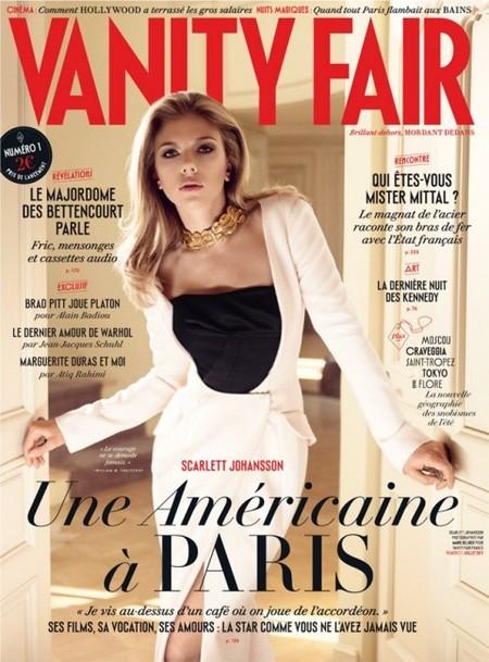 Unos inauguran embalses y Scarlett Johansson revistas: ¡toma portadón francés!