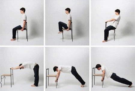 Una silla para practicar Tai Chi