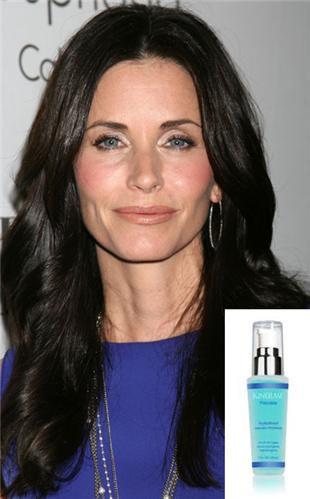 Courtney Cox y sus productos cosméticos