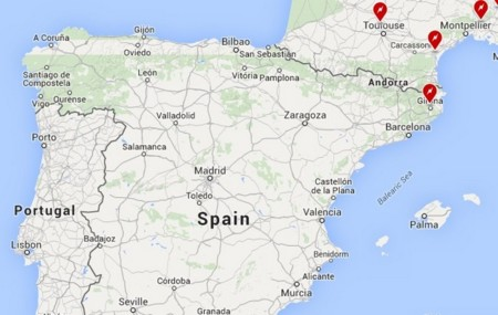 El primer supercargador Tesla en España ya funciona y está al lado de un hotel gerundense