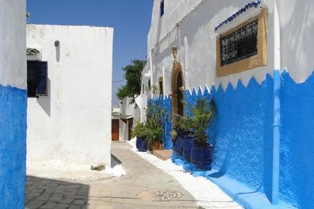 La Kasbah de los Oudayas en Rabat, Marruecos