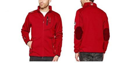 Desde 22,82 euros puedes hacerte con esta chaqueta Geographical Norway Tabloid en rojo gracias a Amazon