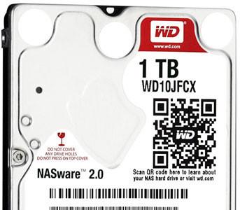 Western Digital ya tiene sus Red en formato pequeño