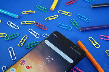 Galaxy Note 8 Reconocimiento Facial