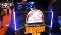 Pon a prueba tu ansia por la próxima película de Parque Jurásico con su nueva recreativa