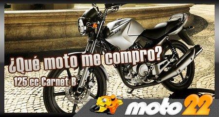 ¿Qué moto me compro? Carnet B de Segunda Mano, Yamaha YBR 125