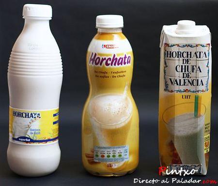 Comparación de horchatas de marca blanca: Eroski, Hacendado y SuperSol (I)
