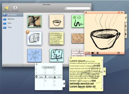 SketchBox, guarda tus anotaciones al más puro estilo iPhoto