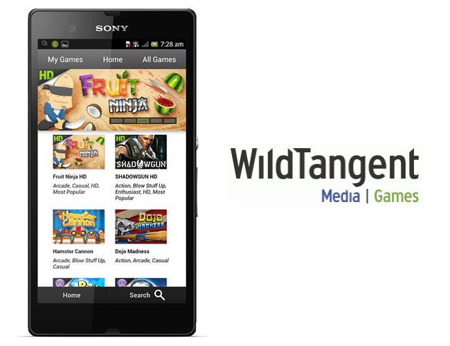 WildTangent Games en Sony Xperia