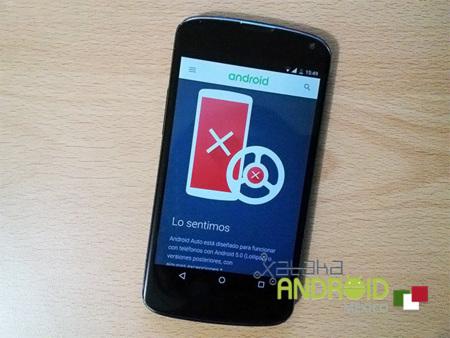 Android Auto lanza sitio para comprobar compatibilidad, pero de momento no funciona